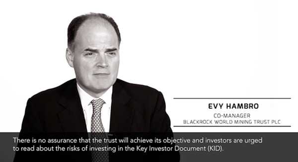 Video: Evy Hambro talks about investing in mining stocks