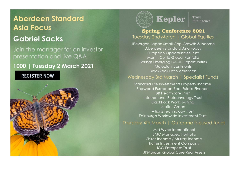Kepler Spring Conference - Aberdeen Standard Asia Focus