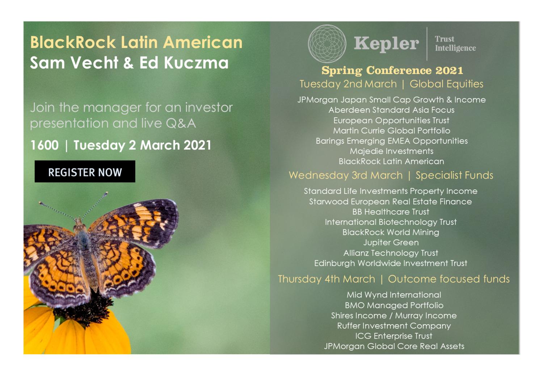Kepler Spring Conference - BRLA