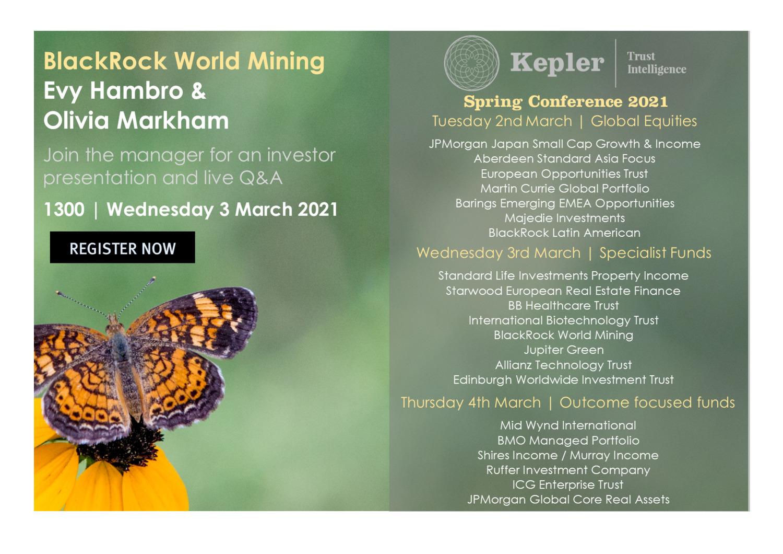Kepler Spring Conference - BRWM