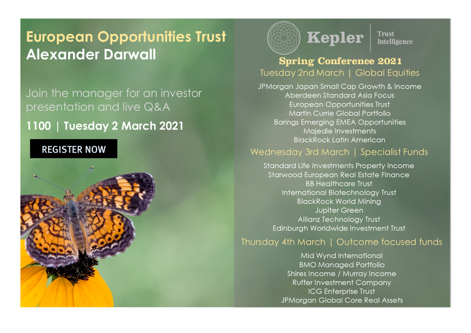 KTI Spring Conference - European Opportunities