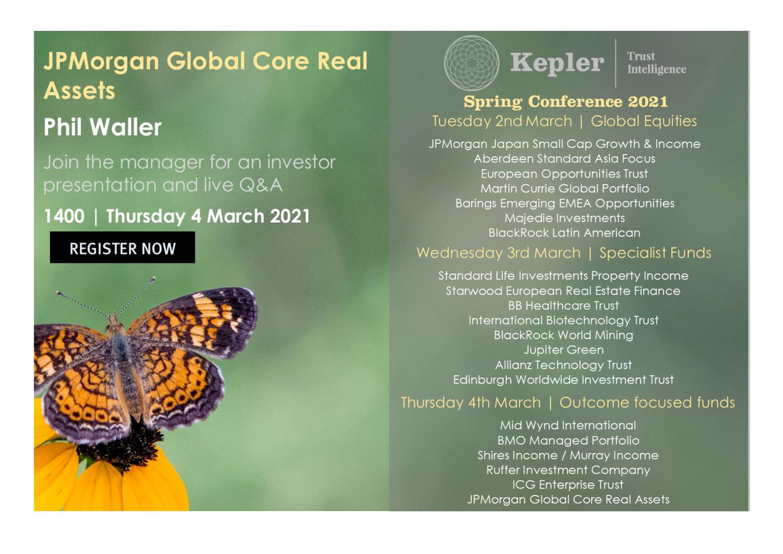 Kepler Spring Conference - JPM Global Core Real Assets