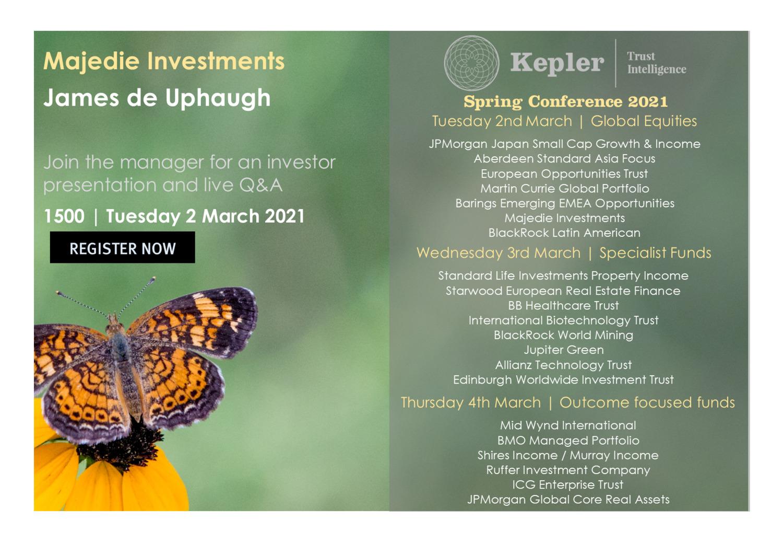 Kepler Spring Conference - Majedie