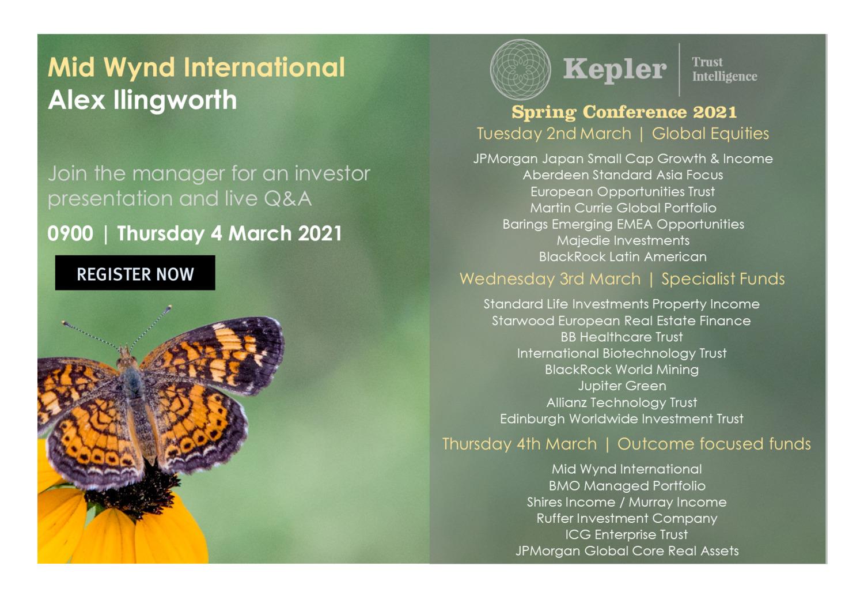 Kepler Spring Conference - Mid Wynd