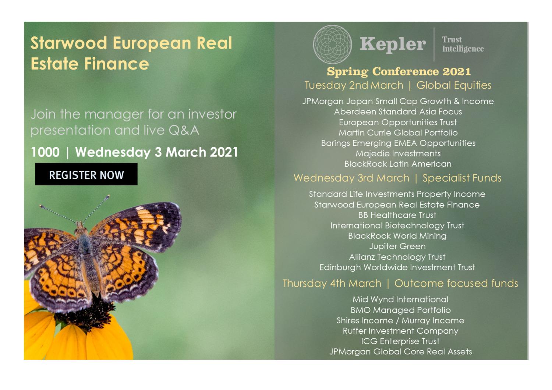 Kepler Spring Conference - Starwood